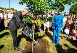 Президенты Эстонии и Австрии открыли дубовую рощу в Ляэне-Вирумаа