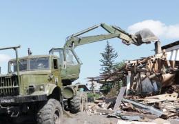 Тулун: военные восстанавливают подъездные пути и разбирают завалы