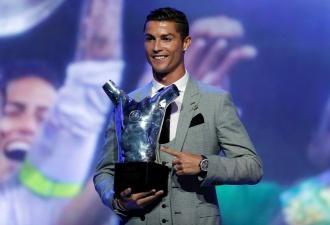Криштиану Роналду признан лучшим футболистом года по версии УЕФА