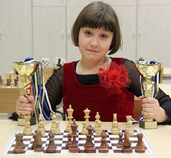 Юная нарвская шахматистка удивляет волей к победе