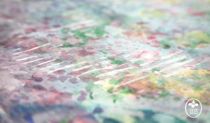 5-летняя художница-аутист создает настоящие шедевры