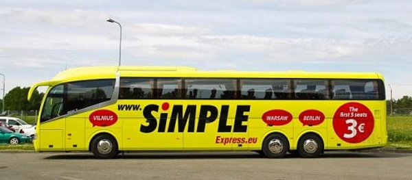 Бюджетная автобусная компания Simple Express изменила ценообразование