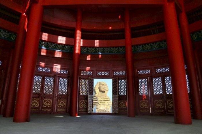 В Китае появились объединенные в единое здание Капитолий и храм Неба
