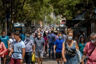 В Испании всплеск заболеваемости коронавирусом