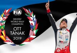 Эстонский гонщик Отт Тянак стал чемпионом мира