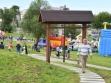 """В Нарве во время """"Летних дней"""" открыли парк к 100-летию ЭР"""