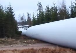 В Швеции при загадочных обстоятельствах развалился ветрогенератор